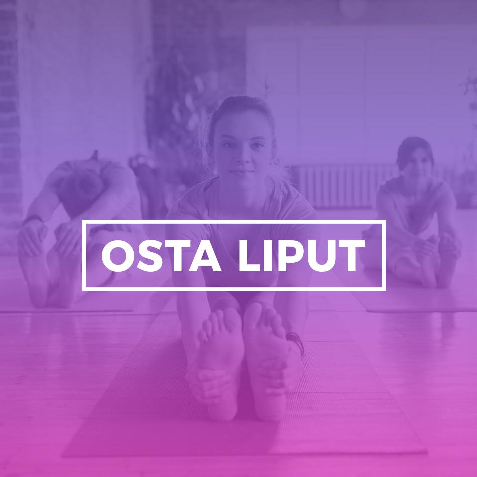 Osta liput Yoga Play festivaaleille